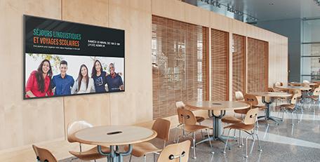 offres livraison et installation écran affichage dynamique